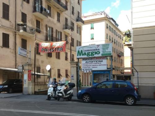Ingresso da Via Monticelli